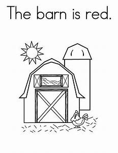 Barn Coloring Pages - Bestofcoloring.com