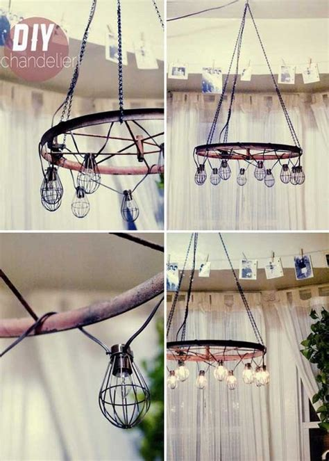 awesome diy ways  reusing  bike wheels