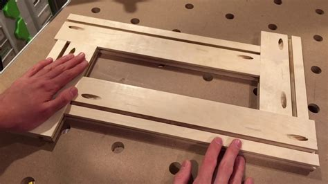 how to make a router template how to make an adjustable routing template