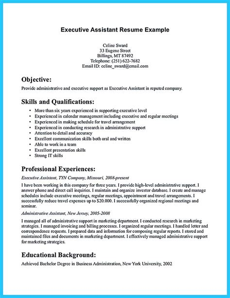 14 Executive Assistant Resume Objective Smart Objectives