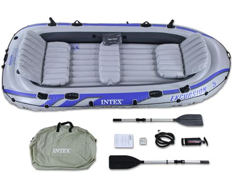 intex excursion 5 floor template intex excursion 5 raft set five person