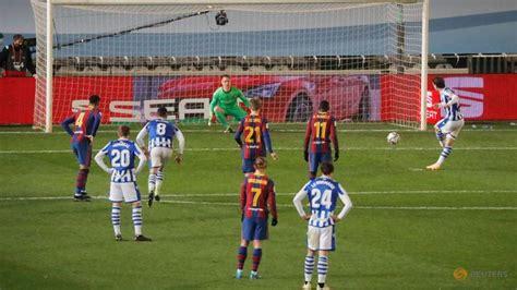 Barca edge Sociedad in shootout to reach Super Cup final - CNA