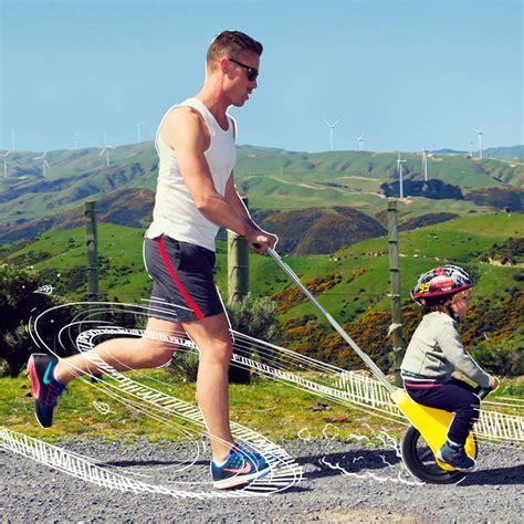 mountain buggy unirider reduces children's stroller into a