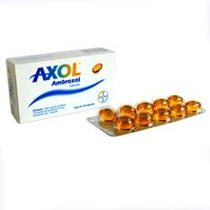 axol ambroxol mucolitico capsulas bayer pharma rx rx