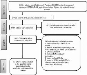 Full Text  Systematic Review In South Africa Reveals Antibiotic Resistance Genes