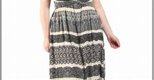 robe hippie chic forme bustier couleurs noire et blanche With robe blanche hippie