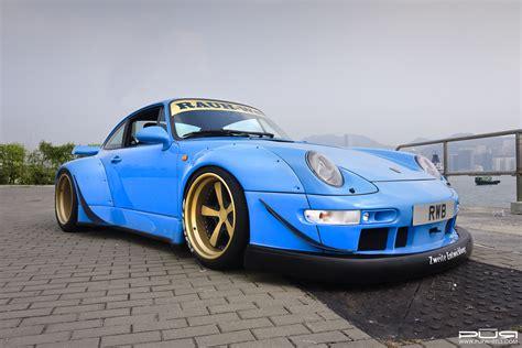 rwb porsche go wide with this rwb 993 porsche 911 with pur wheels