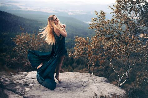 women Outdoors, Trees, Nature, Landscape Wallpapers HD ...