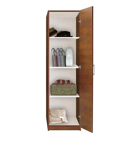 Narrow White Wardrobe by Alta Wardrobe Closet Narrow Closet Right Door 3