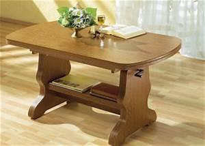 Eiche Rustikal Möbel : couchtisch retourenware eiche rustikal h henverstellbar tisch m bel ausziehbar ebay ~ Orissabook.com Haus und Dekorationen