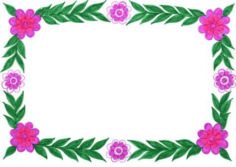 Marcos de flores Vintage para descargar y editar (4