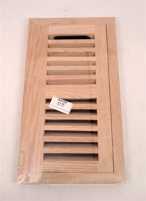 4x10 Wood Floor Registers by Chicago Hardwood Oak 4 X 10 Inch Hardwood Floor Vent