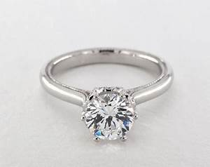 verragio classic engagement ring 14k white gold 6939w14 With classic wedding rings