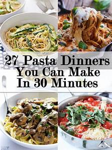 27 Filling And Delicious Pasta Recipes