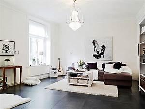 Wohnzimmer Scandi Style : another scandinavian style apartment ~ Frokenaadalensverden.com Haus und Dekorationen