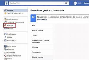 Comment Débloquer Un Contact : comment d bloquer un ami sur facebook ~ Maxctalentgroup.com Avis de Voitures