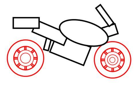 drawing  cartoon motorcycle