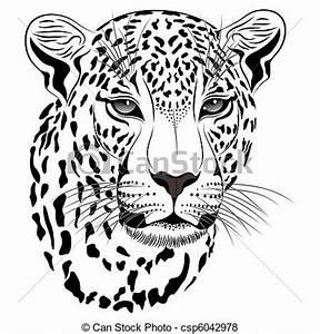 Vecteur de tatouage, léopard - Leopard, tatouage ...
