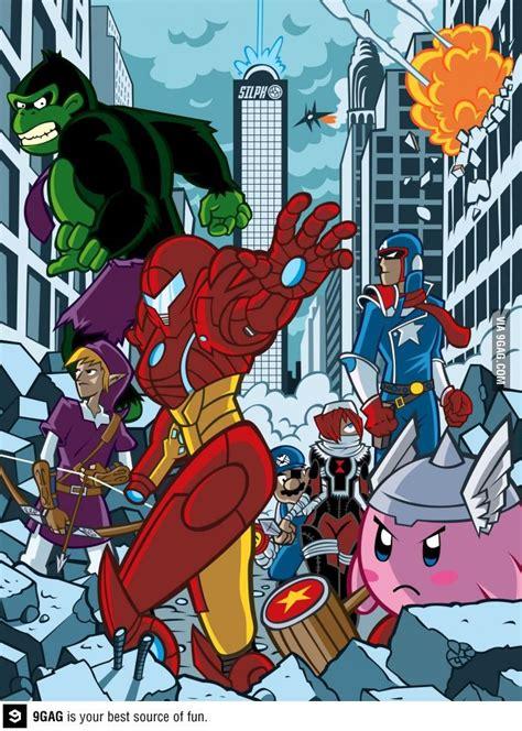 Super Avengers Bros Super Smash Bros Avengers Game