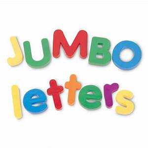 jumbo magnetic letters uppercase and lowercase With upper and lowercase magnetic letters