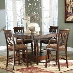 Counter Height Dining Room Sets Leahlyn Counter Height Dining Room Set Casual Dining Sets Dining Room And Kitchen Furniture