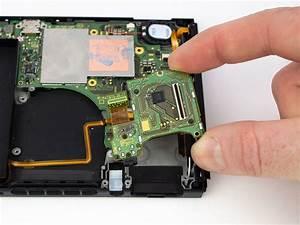 Nintendo Switch Headphone Jack And Game Card Board