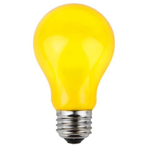 colored party bulbs yellow opaque yard envy
