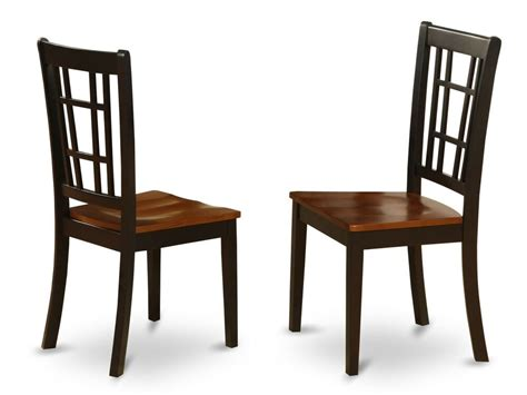 Kitchen Chairs by Set Of 2 Nicoli Dinette Kitchen Dining Chairs W Plain