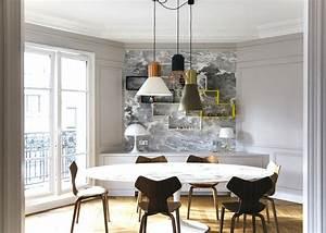 Appartement haussmannien moderne : visite déco Blog Décoration Clem
