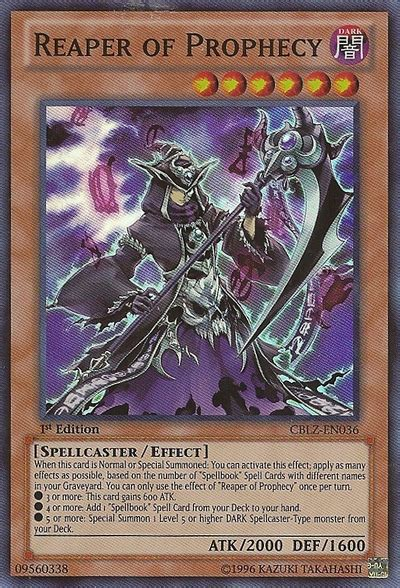Yugioh Prophecy Deck 2014 by Reaper Of Prophecy Yu Gi Oh