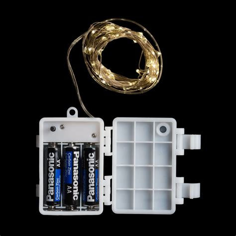ledcount micro led color submersible string light