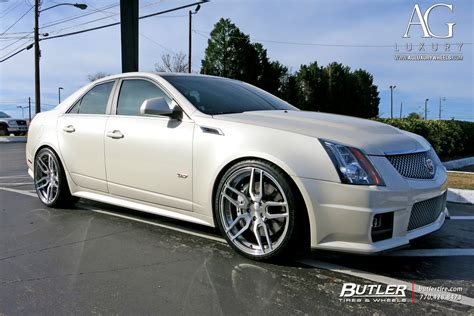 Black Rims For Cadillac Cts by Ag Luxury Wheels Cadillac Cts V Forged Wheels