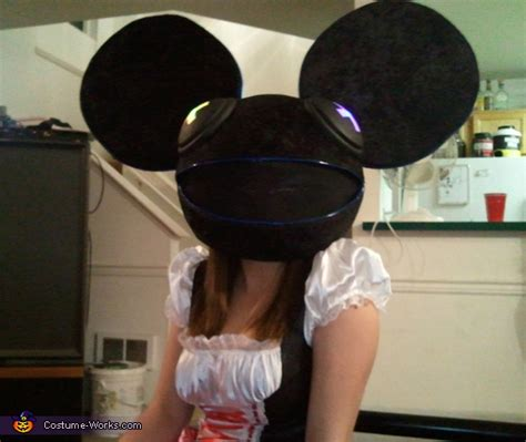 diy deadmau5 halloween costume photo 2 2