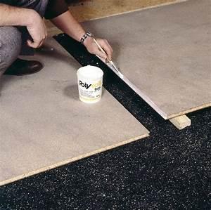 Carreler Terrasse Extérieure Sur Chape Sèche : plancher en panneaux sur chape s che ~ Premium-room.com Idées de Décoration