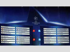 UEFA Champions League Full schedule for the 201718