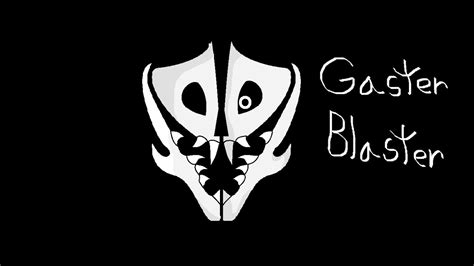 How To Draw A Gaster Blaster