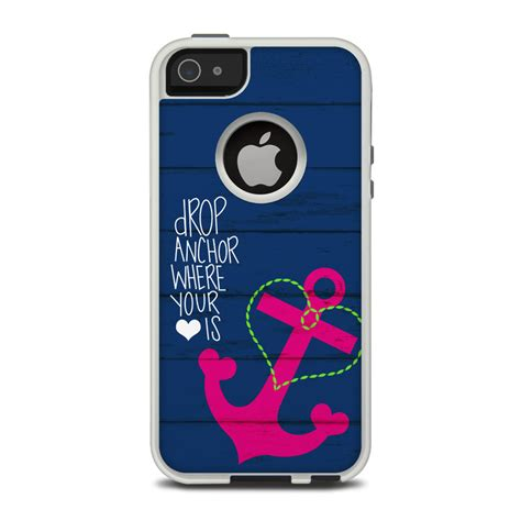 iphone 5 cases otterbox otterbox commuter iphone 5 skin drop anchor by