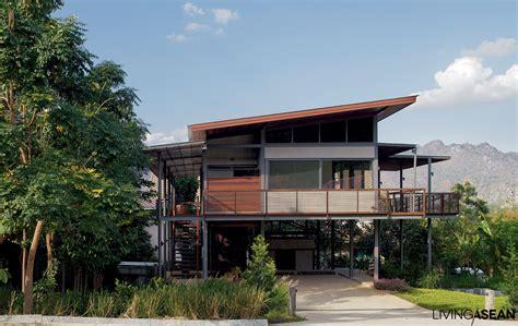 Tropical Home : Modern Tropical House /// Living Asean