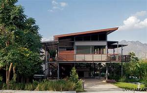 Modern, Tropical, House, Living, Asean