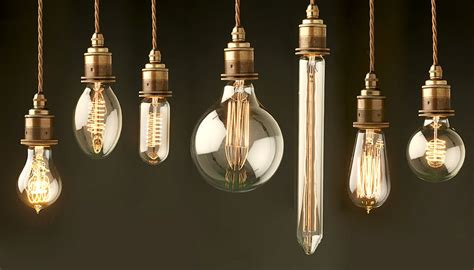 decorate your space with edison light bulb fixtures