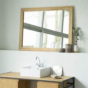 Miroir Bois Salle De Bain : miroir en teck style classique pour salle de bain tikamoon ~ Teatrodelosmanantiales.com Idées de Décoration