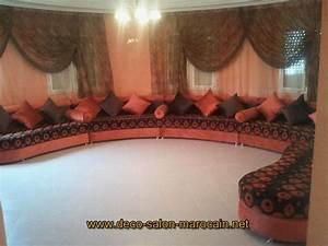 Modele De Salon : les nouveaux mod les de salon marocain traditionnel d co ~ Premium-room.com Idées de Décoration