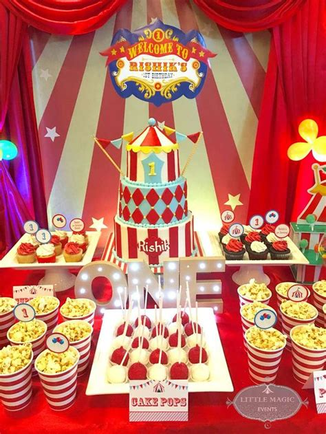 circus carnival party ideas images  pinterest