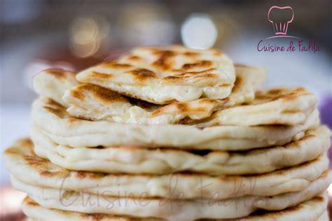 cuisine au naan au fromage cuisine de fadila