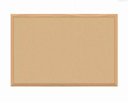 Board Cork Clipart Corkboard Blank Boards Wood