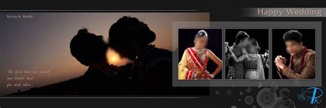 indian wedding photo album design  psd sheets
