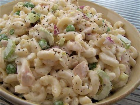 pasta salad easy recipes simple macaroni salad recipe dishmaps