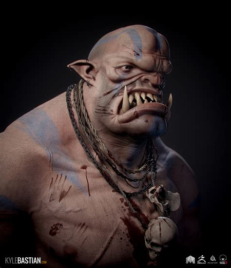 Giant Ogre by kylecbastian   Creatures   3D   CGSociety