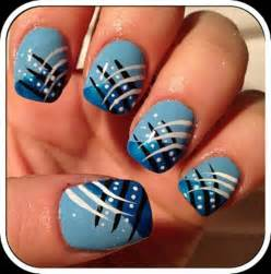 Nail design white blue white and blue nail art by kirarachan on view images gorgeous blue nail designs for girls design ideaz prinsesfo Gallery