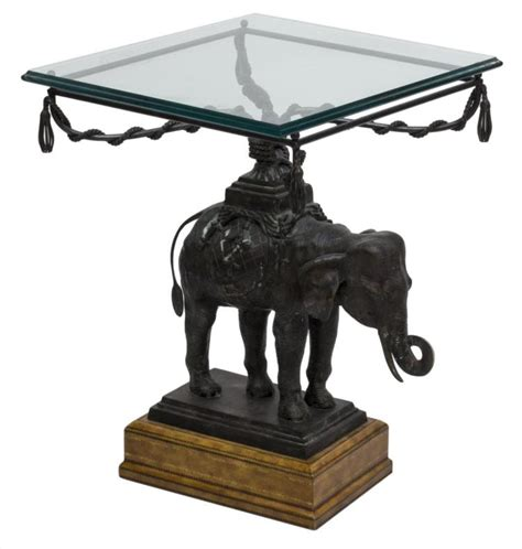 maitland smith elephant ls maitland smith bronze elephant occasional table